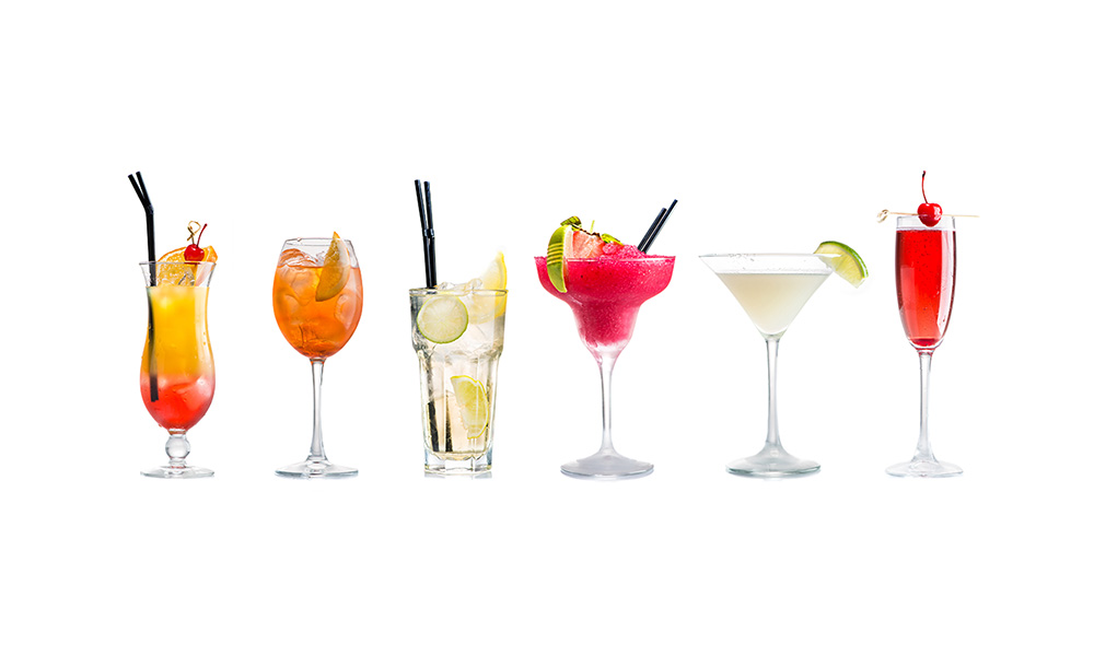 бокалы для коктейлей