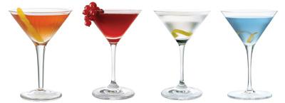 Популярные алкогольные коктейли.