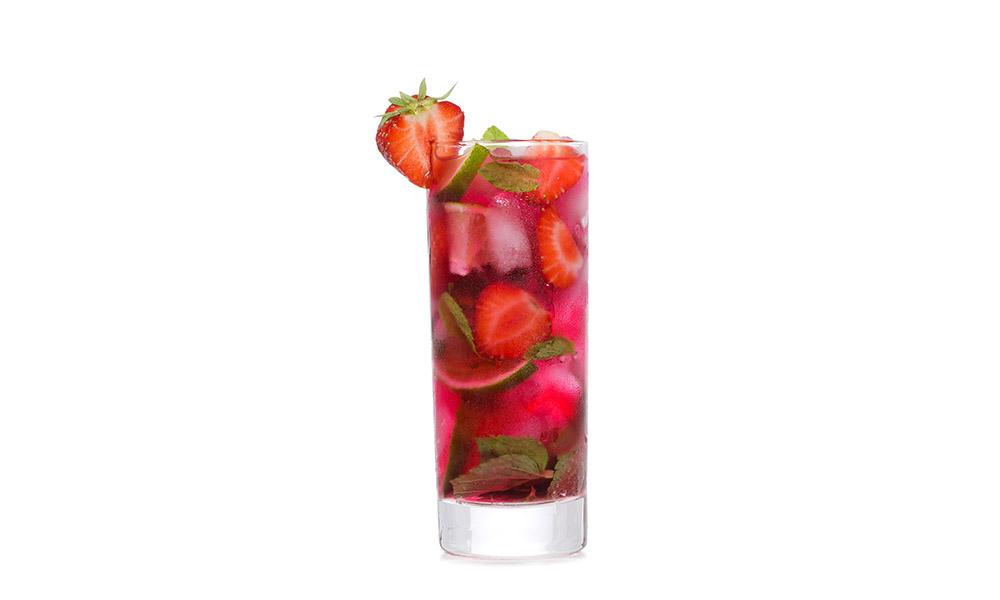клубничный мохито рецепт коктейля